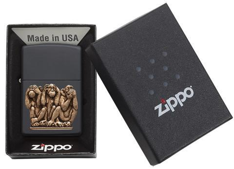 Zippo Lighter Three Monkeys (29409)