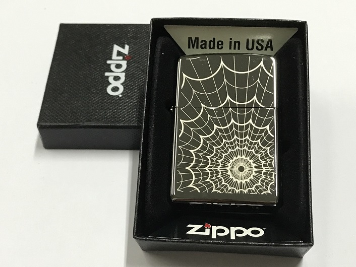 Zippo Lighter Web All Over 28527 (FREE Shipping)