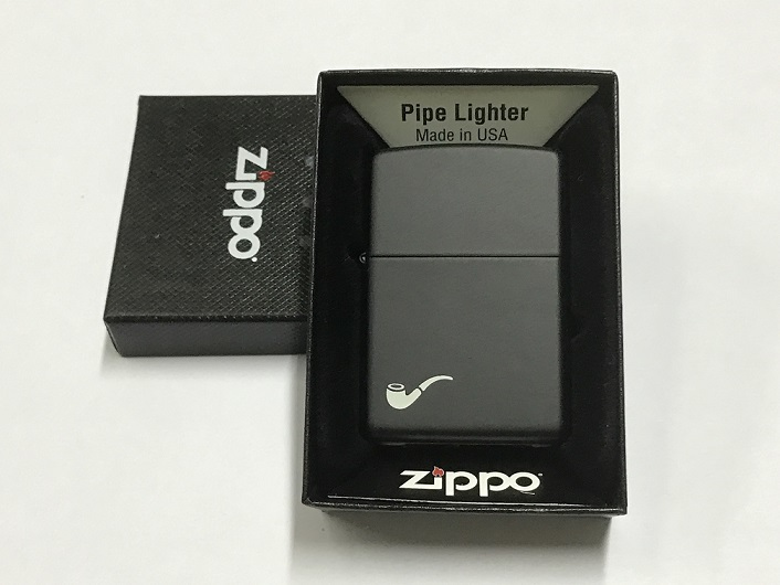 Zippo Pipe lighter 218pl Regular Black Matte (ZL218PL)