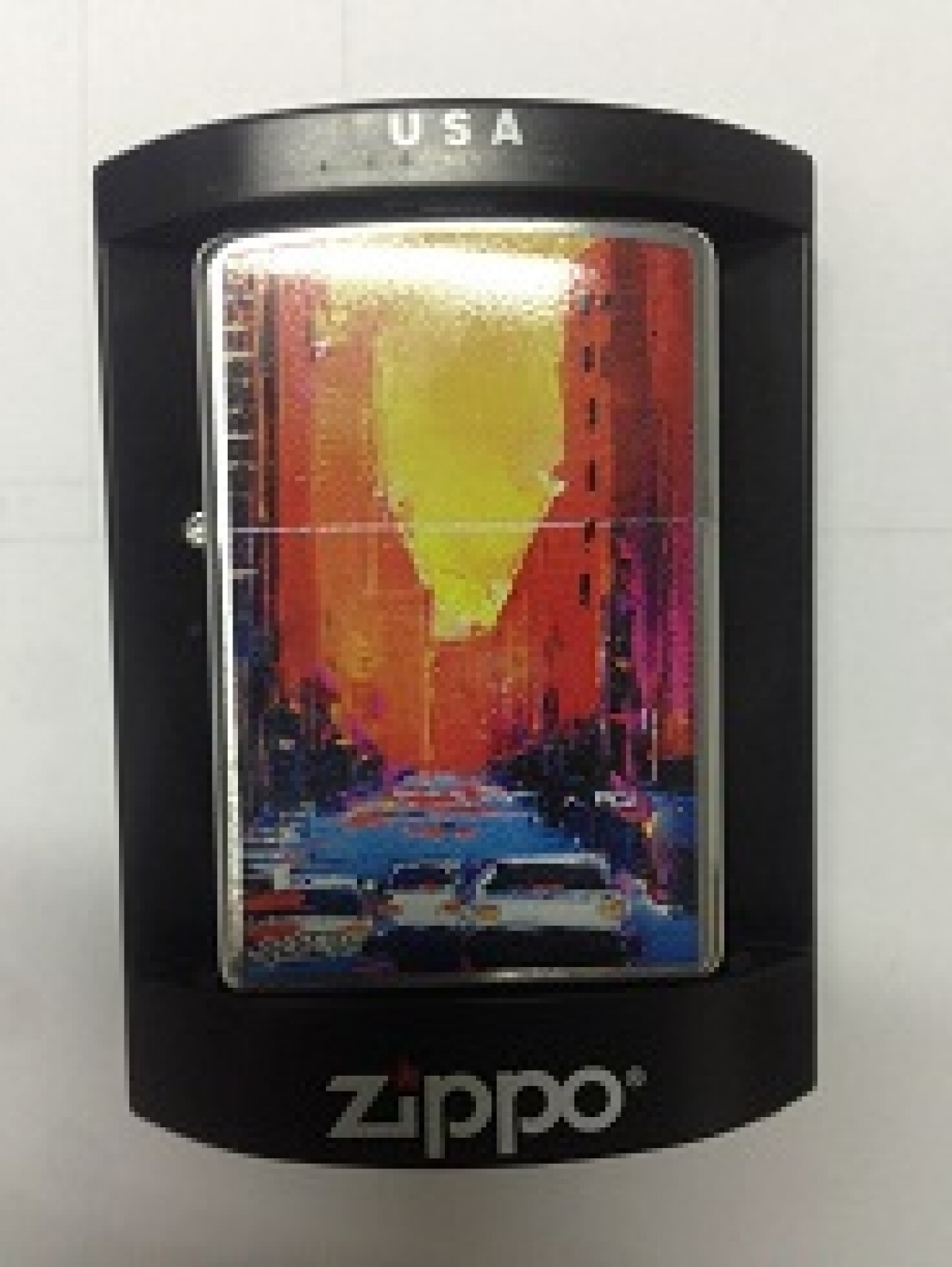 Zippo Pocket Lighter 200 7th Av Rouge
