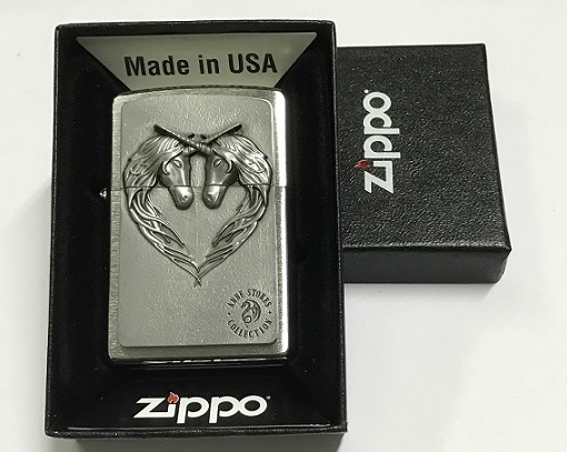 Zippo Pocket Lighter 2001986 Unicorn Heart