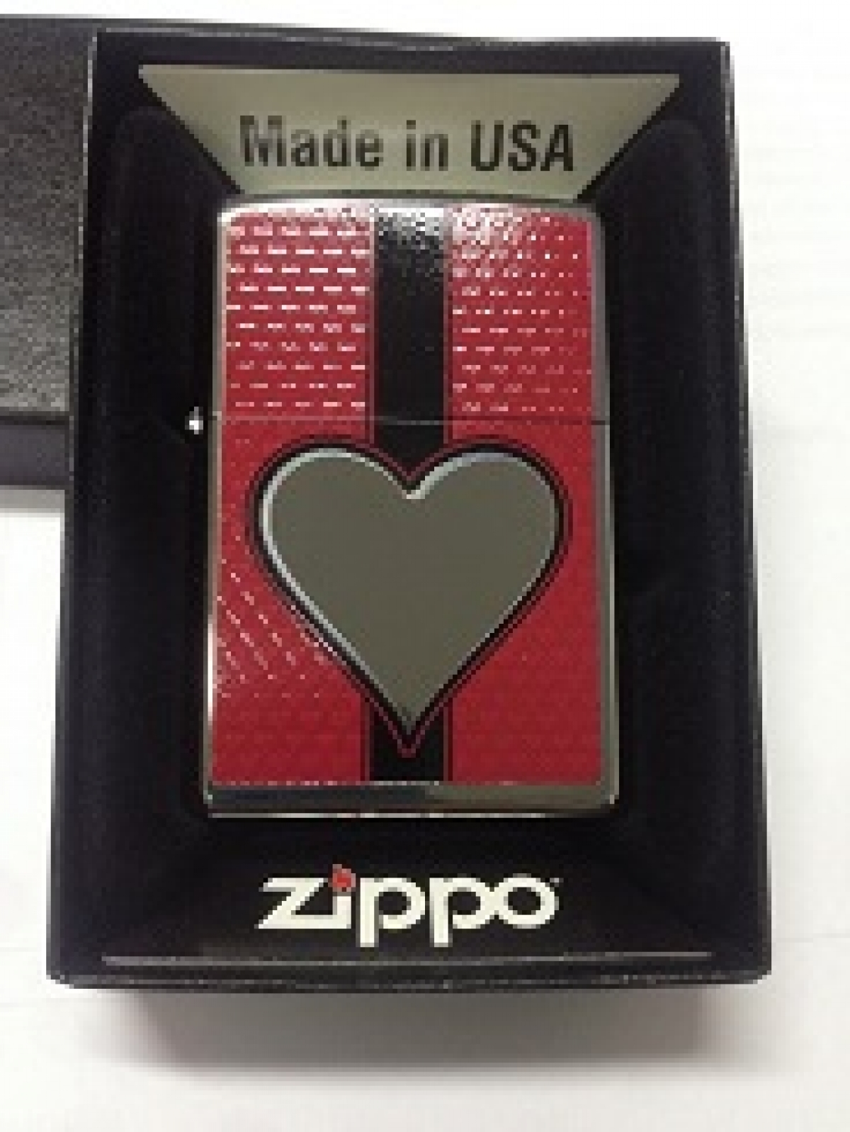 Zippo Pocket Lighter 2003 454 Chrome Heart