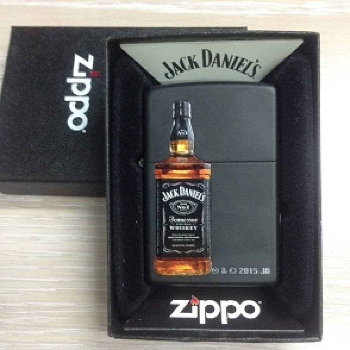 Zippo Pocket Lighter 200347 Jack Daniel Bottle