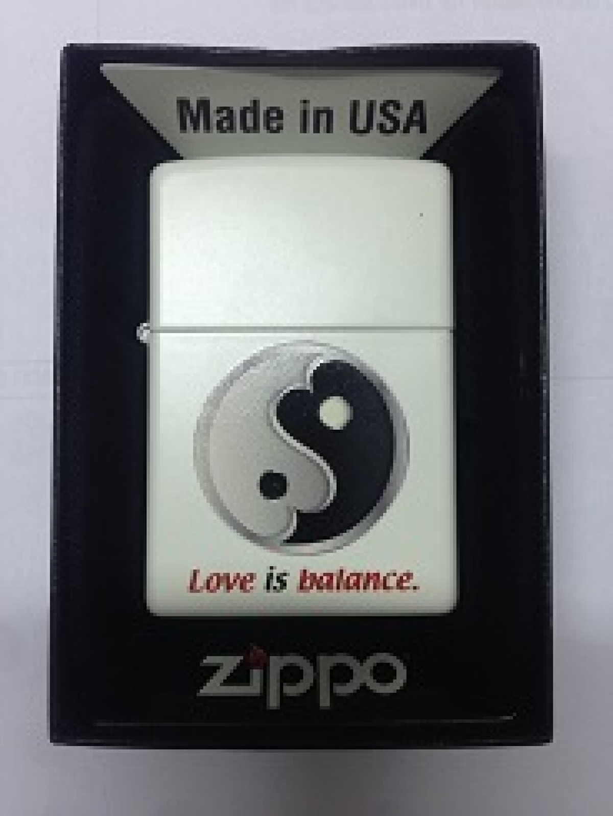 Zippo Pocket Lighter 2003852 214 Love and Health