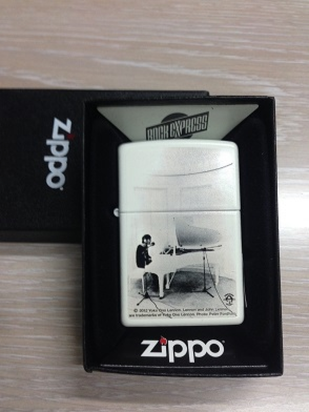 Zippo Pocket Lighter 2004264 Rock Express