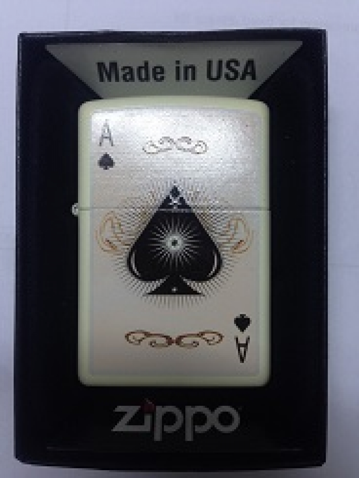 Zippo Pocket Lighter 60000006 216 Vintage Ace