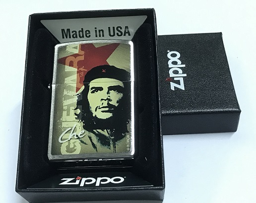 Zippo Pocket Lighter 60001432 200 Che Guevara in Green