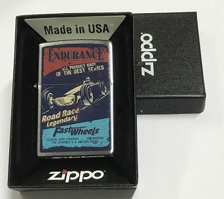 Zippo Pocket Lighter 60002168 200 Endurance fast Wheels