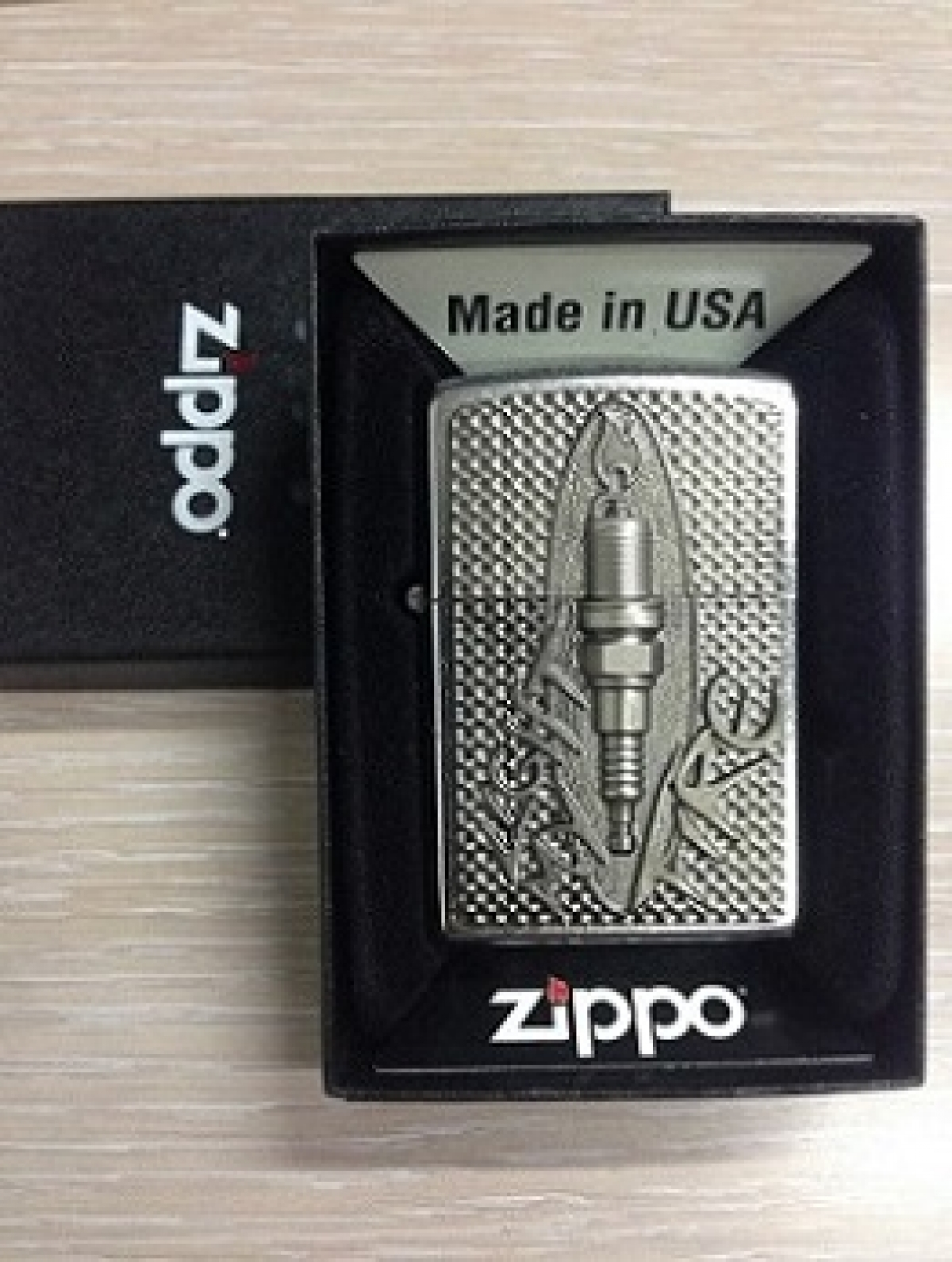 Zippo Pocket Lighter Spark Plug Fire