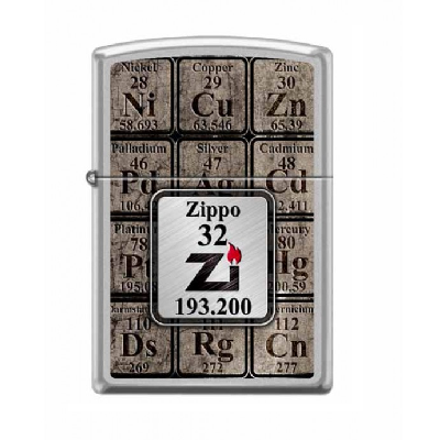Zippo Table of Elements