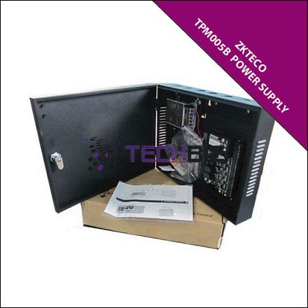 ZKTeco TPM005B  Power Supply with CASE04 Metal Box (Black)
