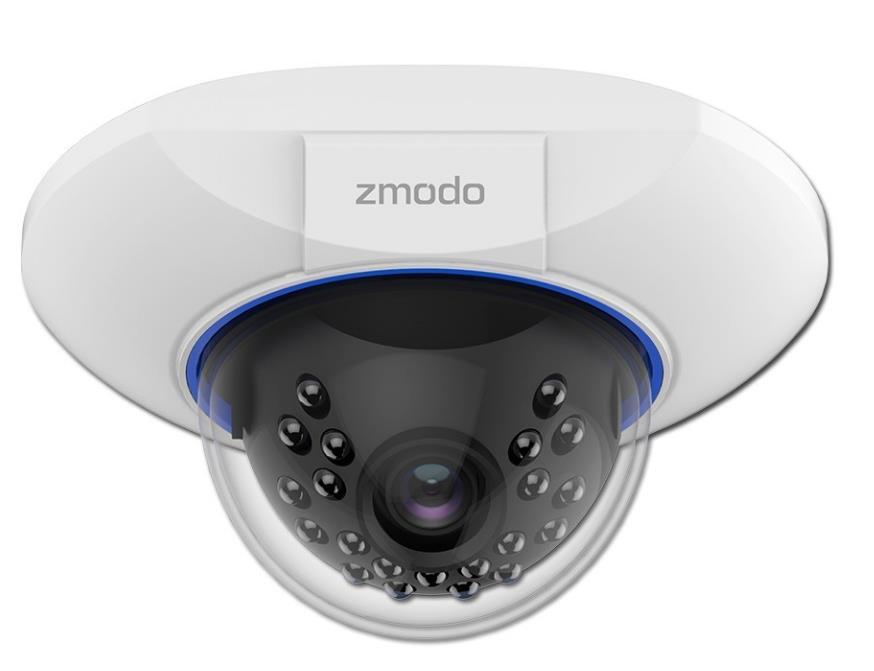 ZMODO INDOOR DOME IP CAMERA WIRELESS CCTV (ZM-SS76D001-S)