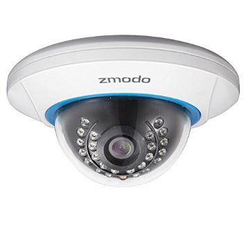 ZMODO IP CAMERA DOME 720P CCTV (ZP-IDP15-W)