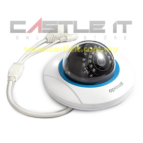 ZMODO IP Camera Wireless DOME 720P (ZP-IDP15-W)