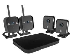 ZMODO WIFI IP CAMERA WIRELESS KIT FOR CCTV(4 X 720P CAMERA) (ZM-KW1001)