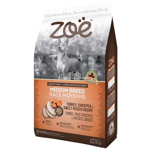 Zoë Medium Breed Dog Food - Turkey, Chickpea and Sweet Potato Recipe