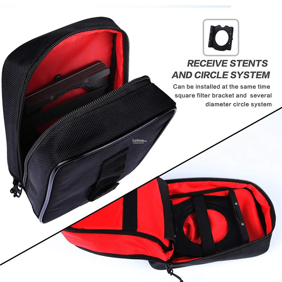 ZOMEI 16 Pockets Nylon Lens Case Bag Pouch For 100*150MM Cokin Z Serie