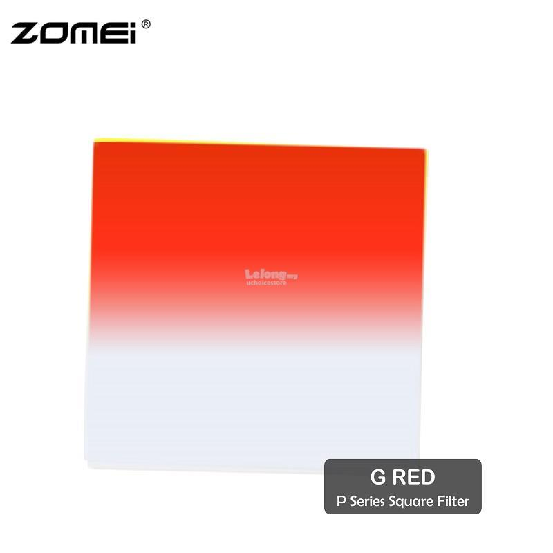 Zomei G Red Graduated Red Color Square Filter(Fit For Cokin Holder)