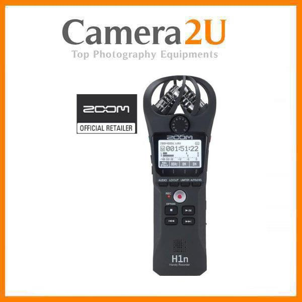 New Zoom H1n Handy Digital Sound Recorder