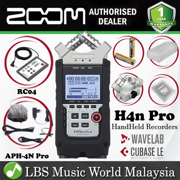 Zoom H4n Pro Handy Recorder Field Re End 2 9 2022 12 00 Am