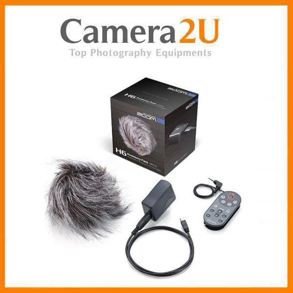 Zoom H6 Handy Recorder Accessory Package APH-6 APH6