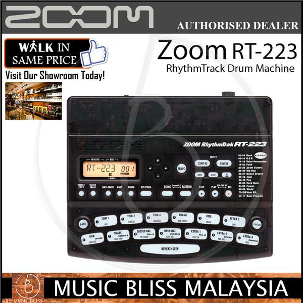 zoom rt 223 rhythmtrack drum machin end 8 15 2020 10 56 am. Black Bedroom Furniture Sets. Home Design Ideas
