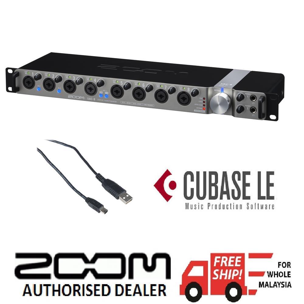 Zoom UAC-8 Audio Converter Windows 8 X64