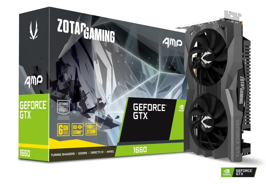 # ZOTAC GAMING GeForce GTX 1660 AMP 6GB GDDR5 # 1845MHz