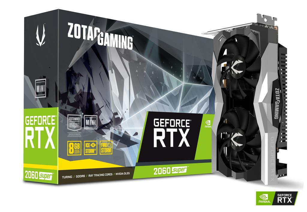 ZOTAC RTX2060 8GB SUPER MINI GDDR6 GRAPHIC CARD