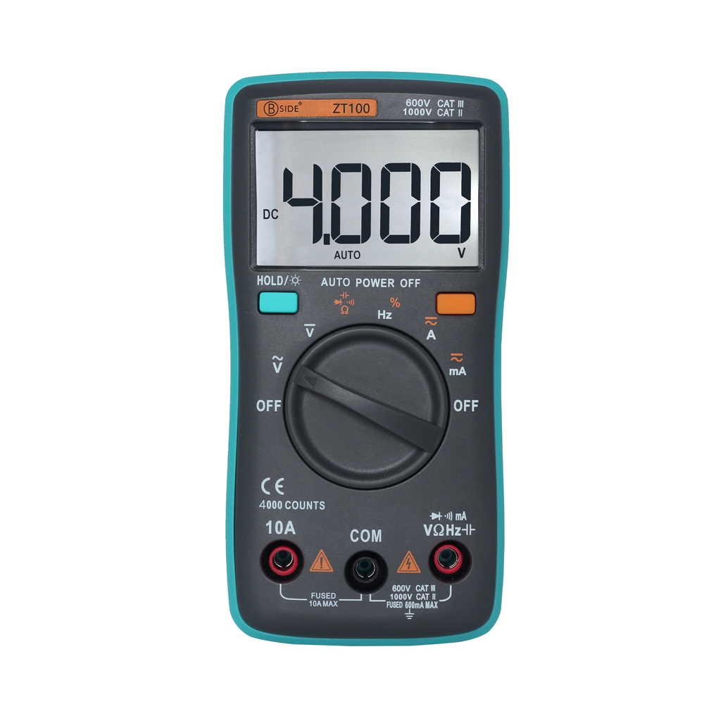 ZT100 AUTOMATIC RANGE DIGITAL MULTIMETER