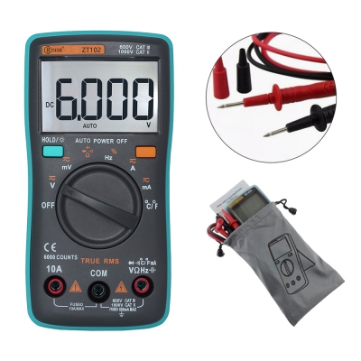 ZT102 Big Screen Digital Multimeter