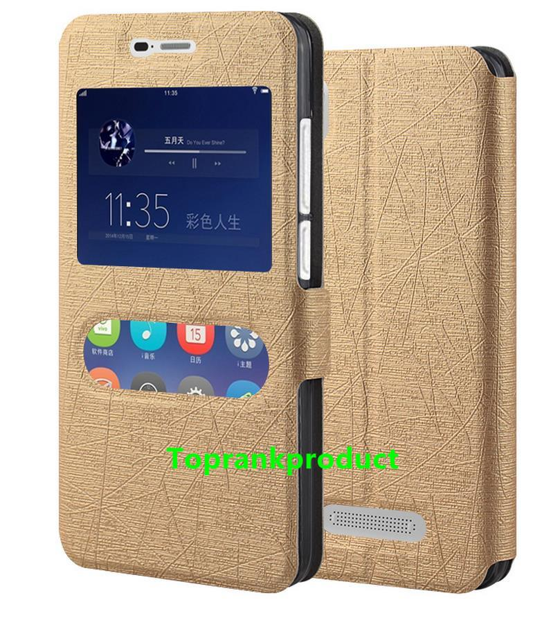 ZTE Blade A452 Flip Stand PU Leather Case Cover Casing + Free Gift
