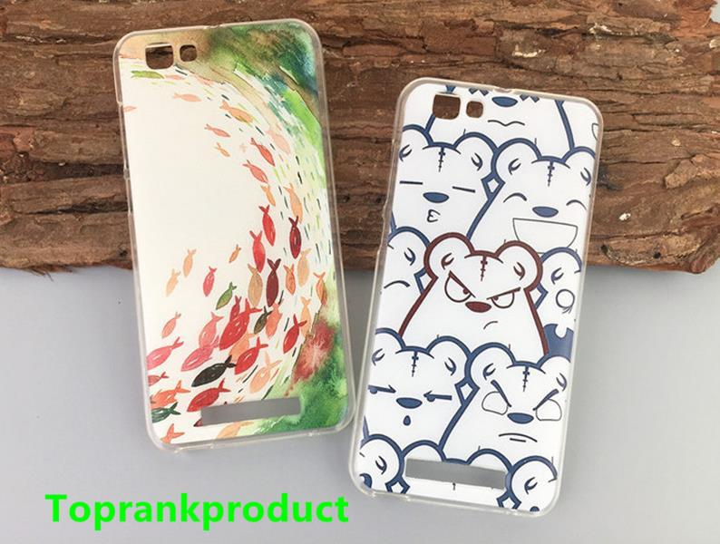 ZTE Blade A610 Cartoon Silicone TPU Soft Case Cover Casing + Free Gift