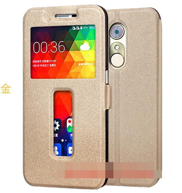 ZTE Blade A910 Flip Stand Armor PU Leather Case Cover Casing