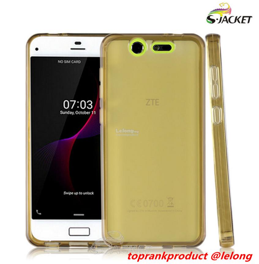 ZTE Blade S7 Soft Transparent TPU Back Case Cover Casing