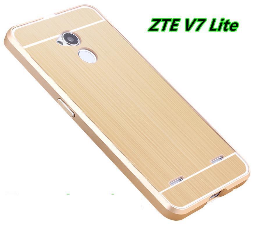best website 4440e 18276 ZTE Blade V7 Lite Metal Bumper Frame Case Cover Casing + Free Gift