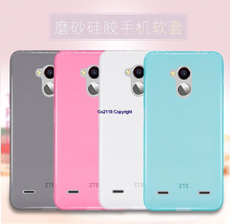hot sales 64496 e3431 ZTE blade V7 lite Transparent TPU Silicone Soft Back Case Cover Casing