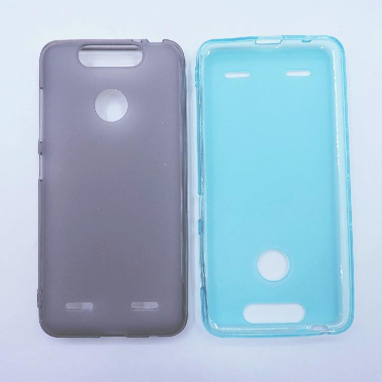 save off 2d627 10f1b ZTE blade v8 mini tranparent back soft case casing cover