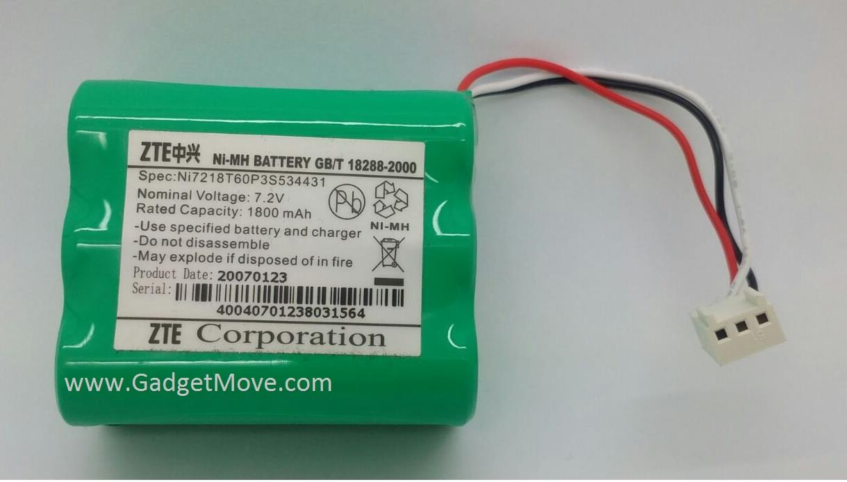 ZTE MF600 Modem rechargeable Back Up BackUp battery
