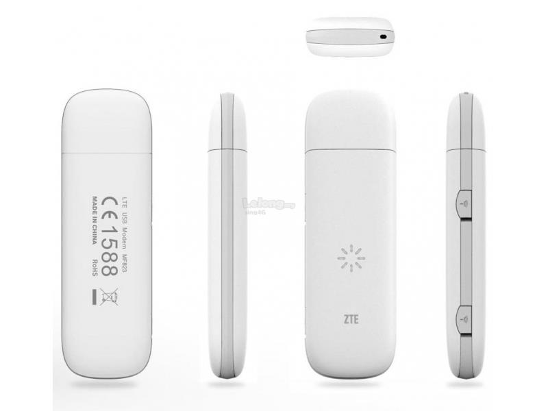ZTE MF823 4G USB Modem @ digi celcom umobile maxis fast 4G connection