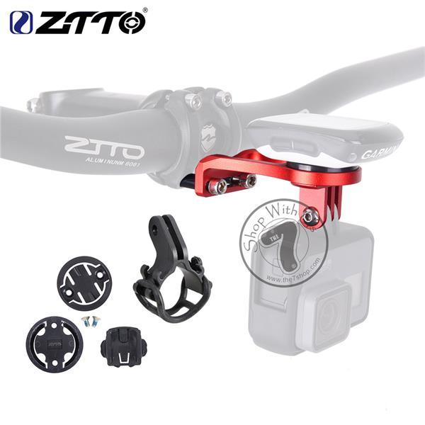 ZTTO Bike Stem Extension Holder (Meter & Go Pro/ Front Light Mount)