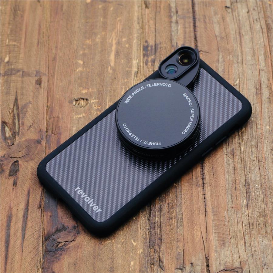 best service 86d9b 02457 Ztylus Iphone X ( 6 in 1 ) Revolver Lens Kit - Carbon Fiber