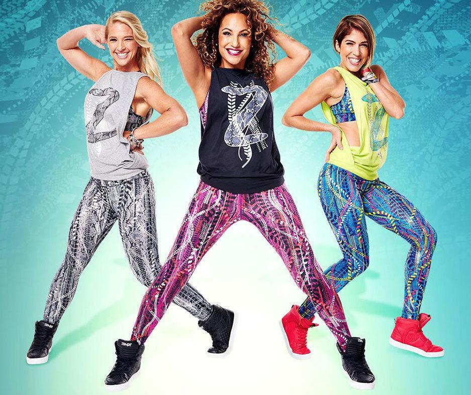 Zumba Fitness Leggings: Zumba Repstyle Perfect Long Leggings (end 1/3/2017 7:09 PM
