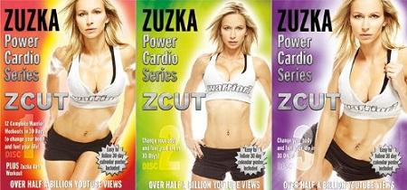 Zuzka's ZCUT Power Cardio Series Workout Videos  in DVD