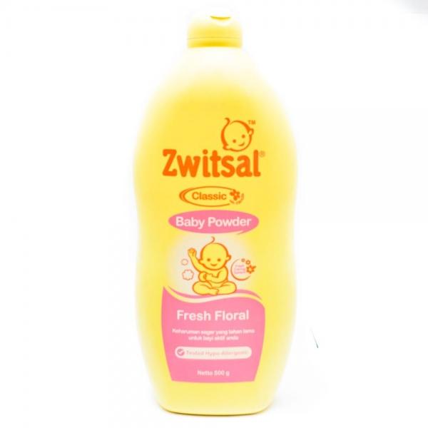 Zwitsal Baby Powder Classic Fresh Floral 100g