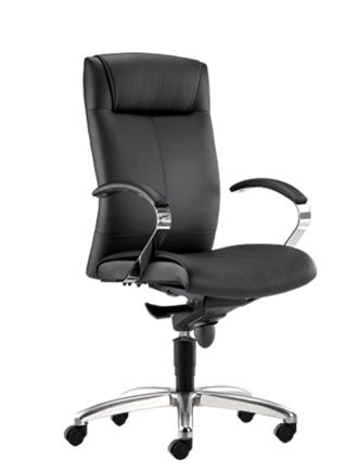 Zytko Series P.U Leather Medium Back Office Chair