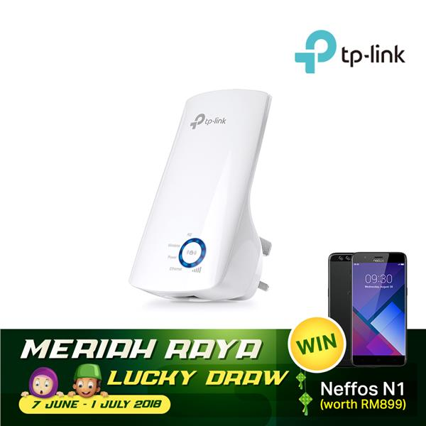 TP-LINK Wi-Fi Range Extender / Wireless Booster, TL-WA850RE