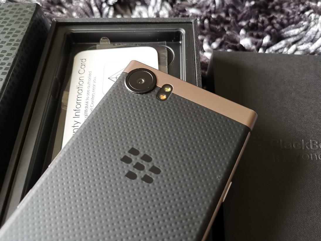 Blackberry KeyOne Bronze Edition 64GB/4GB Dual Full Set Brightstar