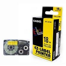 Genuine Casio XR-18 18mm Label Printer Tape Cartridge @10 Color Choice