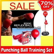 Punching Ball Fighting Bag.Fitness-Gym Equipment-Boxing.Free Glove